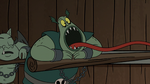 S2E20 Buff Frog stretching his tongue