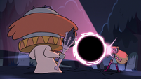 S2E27 Star Butterfly creates a black hole