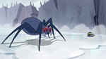 S2E2 Giant spider carving a circle in the ice
