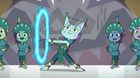 S4E10 Cat monster spinning a fire rope