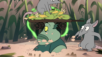 S2E20 Buff Frog pops out of the ground