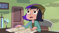 S3E23 Janna looking shocked at the mirror