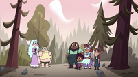 S4E8 Moon, River, and Maizleys in the woods