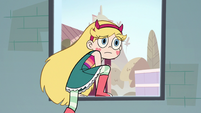 S2E16 Star Butterfly looks confused at Janna