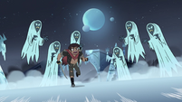 S4E5 Marco running away from the Wraiths