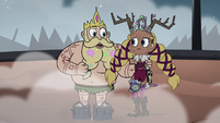 S3E27 King Butterfly congratulating his daughter