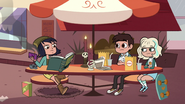 S3E9 Marco and Jackie having lunch with Janna
