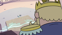 S2E12 King Butterfly sees monsters outside