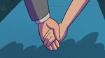 S2E27 Marco and Jackie holding hands