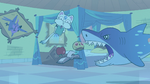 S2E30 Star Butterfly's bedroom filled with water