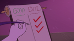 S3E29 Hekapoo checks off 'EVIL' once again