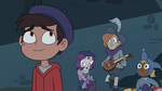 S3E7 Marco Diaz looking at his beret