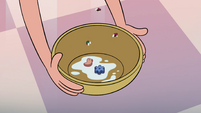 S4E13 Soggy marshmallows in Star's bowl