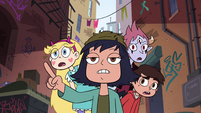 S4E30 Janna leads her friends into an alleyway