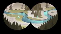 S4E8 Binocular view of the water stream