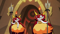 S2E31 Two of Hekapoo's clones standing guard