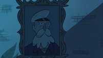 S3E18 Sea captain portrait winking at Eclipsa