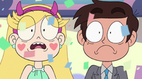 S3E34 Star and Marco stunned stare