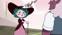 S4E23 Eclipsa Butterfly with windswept hair
