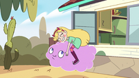 S2E40 Star Butterfly hugging Cloudy