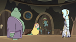 S3E5 Star Butterfly going inside the tadpoles' room