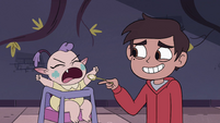 S4E10 Marco trying to feed Meteora