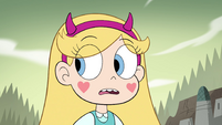 S4E33 Star Butterfly hears booming footsteps