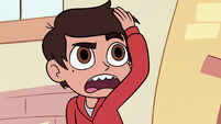 S2E36 Marco Diaz straightening his hair