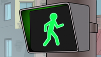 S1E13 Green crosswalk