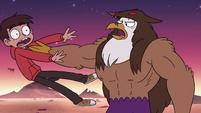 S3E22 Talon Raventalon throws Marco off of him