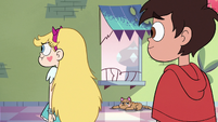 S3E37 Star Butterfly with puffed-up cheeks
