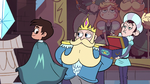 S3E8 Marco Diaz looking at his cape