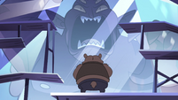 S4E24 Bear monster dressing up frozen Globgor