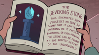 S4E13 Severing Stone page in Demon's Guide