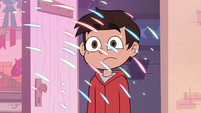 S4E18 Marco Diaz surprised by fireworks