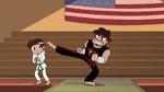 S2E4 Sensei tells Marco to clip his toenail