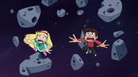 S3E18 Star and Marco drift aimlessly through space