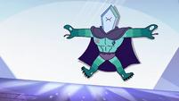 S4E4 Rhombulus flies backward into crystal