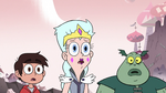 S3E7 Marco, Moon, and Buff Frog look at restored Toffee