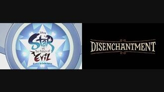 Star vs. the Forces of Evil and Disenchantment Theme Song Mix