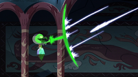S2E41 Ludo-Toffee catches Mewberty Moon's blasts