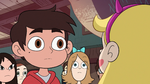 S2E41 Marco Diaz listening to Star Butterfly