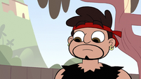S2E4 Dojo Sensei staring at Marco