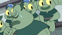 S4E16 Buff Frog crying tears of pride