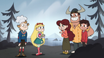 S1E6 Gustav, Star, and the Diazes together