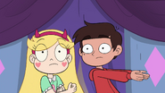 S4E1 Star and Marco hear Fake Manfred