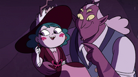 S4E23 Globgor admiring Eclipsa's earrings
