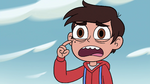 S4E2 Marco pointing at his mole