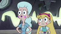S4E34 Star and Moon looking at the others