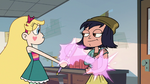 S2E16 Star Butterfly giving Janna an arm tattoo